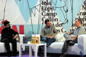 Mario Regueira, Xesús Fraga e Xacobo F. Serrano