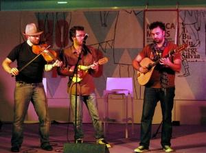 Actuación musical durante o Culturgal (Foto de M.von.W)