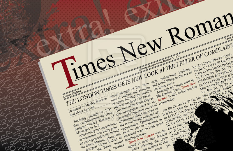 hamlet and times new roman Times new roman font family 10/20/2017 7 minutes to read contributors in this article this remarkable typeface first appeared in 1932 in the times of london newspaper, for which it was.