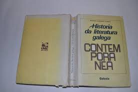 Primeira edición da Historia da literatura galega