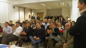 Público nunha entrega do premio