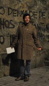 Fran Cortegoso, foi o premiado en 2013