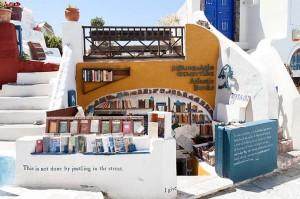 Atlantis Books, en Santorini (Grecia)/ Foto: Cara Tobe