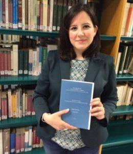 A investigadora Soledad Cuba / Foto: Universidade de Vigo